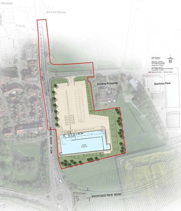 Lidl Grove – Proposed Site Plan